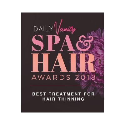 daily vanity spa & hair awards 2019 best treatment for hair thinning