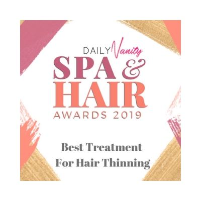 daily vanity spa & award 2019 best treatment for hair thinning